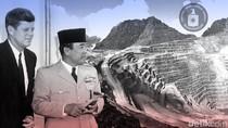 Demi Emas di Papua, CIA Gulingkan Sukarno dan Kennedy