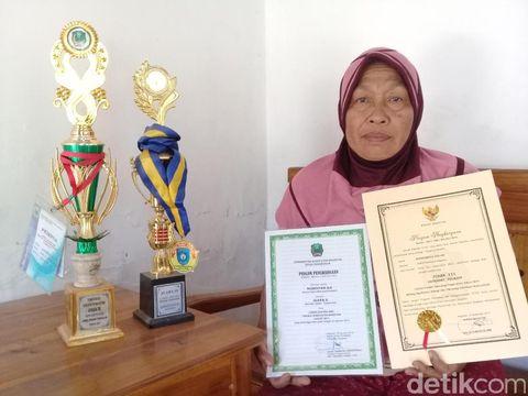 Penghargaan yang diterima Nurdyan Aji Jaelani/