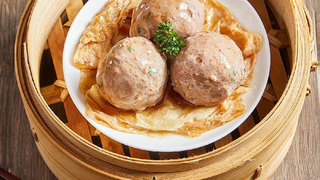 Resep Dim Sum : Steamed Beef Ball