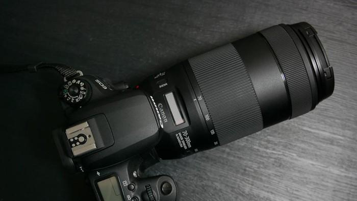 Canon EF 70-300mm, Lensa yang Cepat dan Senyap