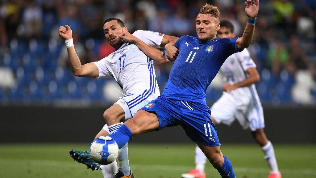 Italia Menang Tipis atas Israel