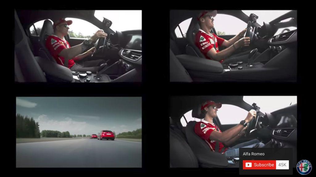 Sebastian Vettel dan Kimi Raikkonen Ngepot Bareng