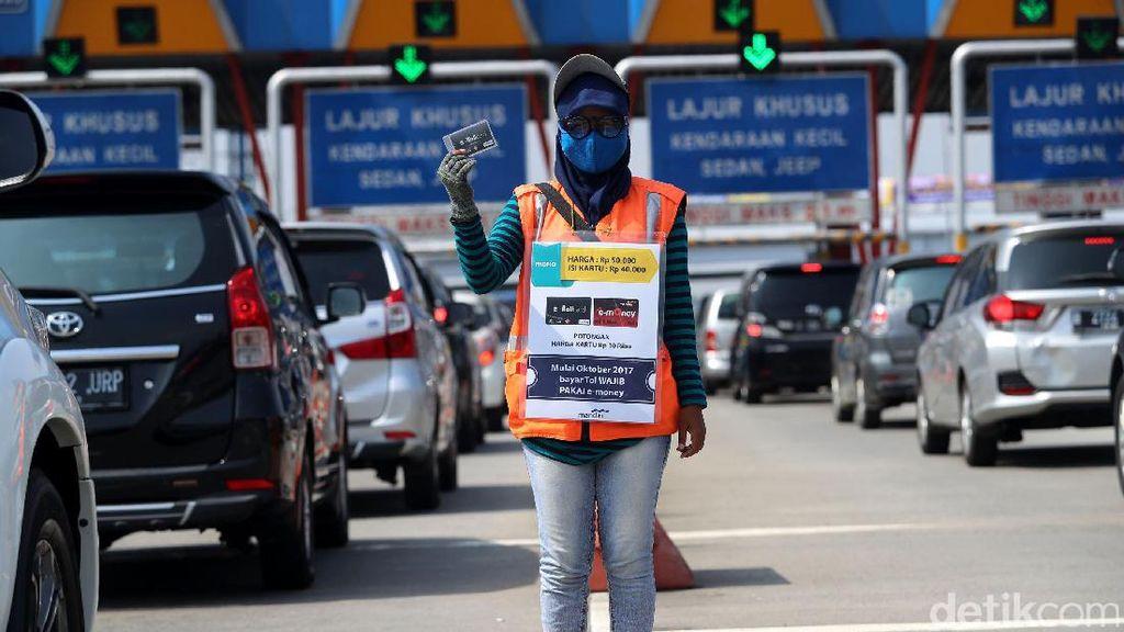 Jasa Marga Antisipasi Semrawut di Gerbang Tol Jelang 100% Non Tunai