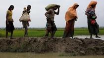 Ditembak Mati di Myanmar, Warga Rohingya Dikubur di Bangladesh