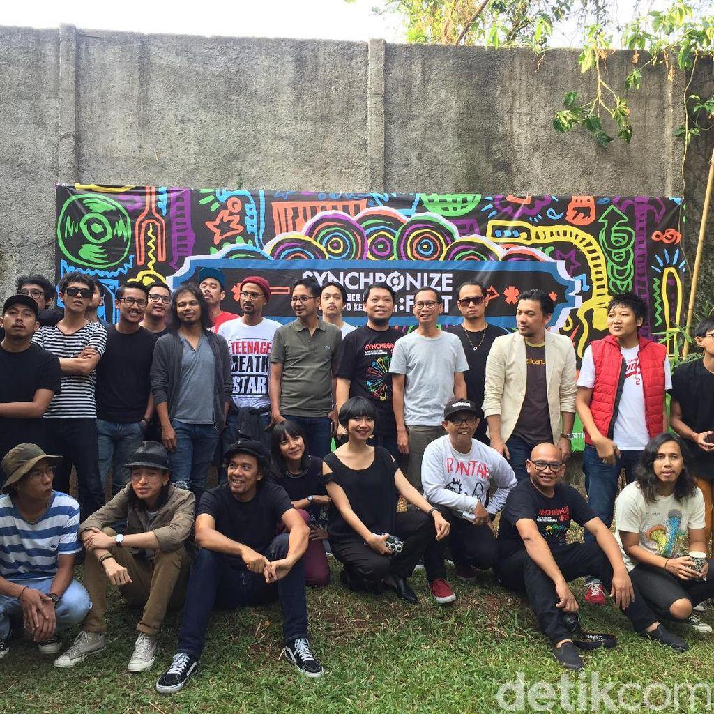 Synchronize Fest Tambah Lagi Penampil Jadi 101 Musisi