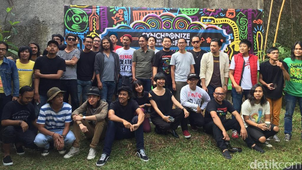 Slank Siap Bawakan Lagu-lagu dari Tujuh Album di Synchronize Fest