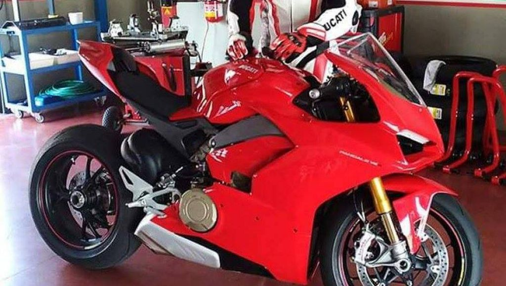 Begini Bocoran Motor Bermesin V4 dari Ducati