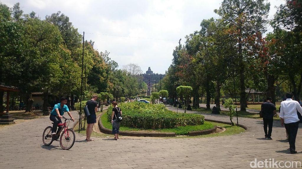 Batal Ditutup, Besok Candi Borobudur Tetap Dibuka untuk Kunjungan