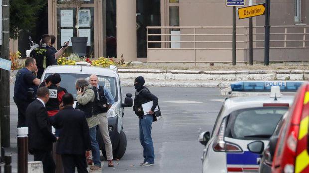 Polisi Prancis mengamankan lokasi temuan bom TATP