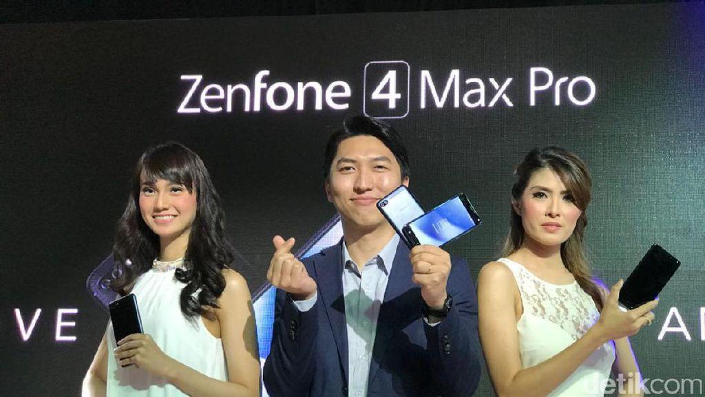 Resmi Dirilis, Ini Keunggulan Zenfone 4 Max Pro