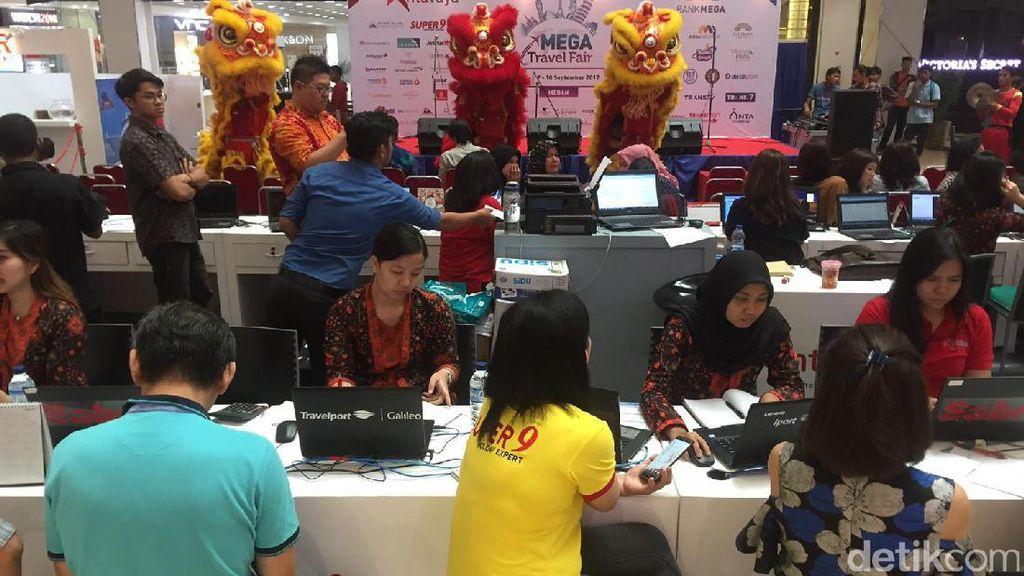 Mega Travel Fair Medan Dibuka, Banyak Paket Liburan Murah!