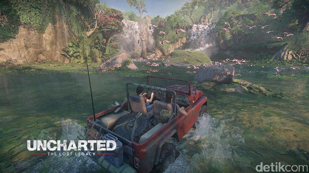Uncharted The Lost Legacy: Mengikhlaskan Nathan Drake