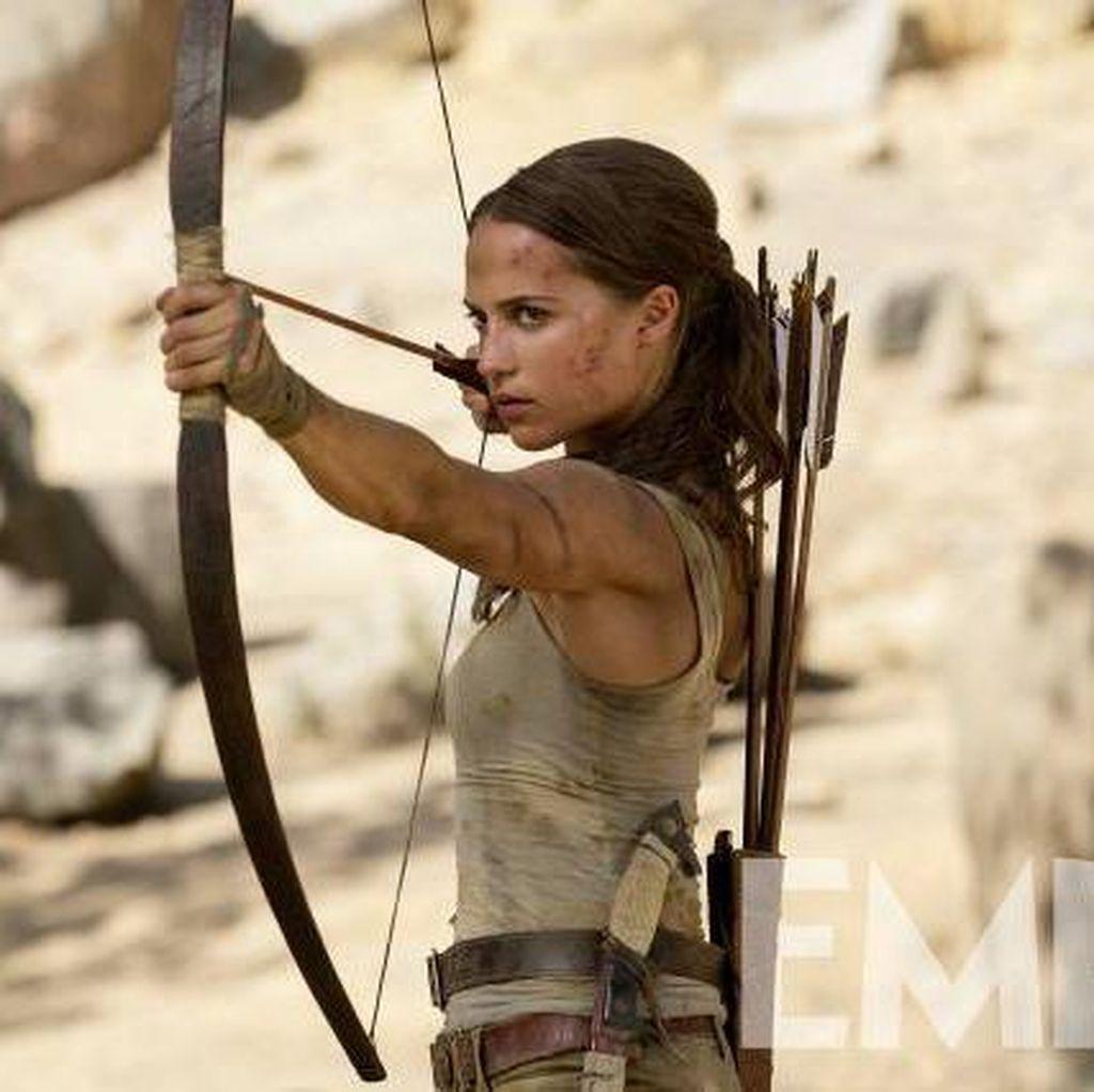 Aksi Keren Alicia Vikander Jadi Lara Croft Baru
