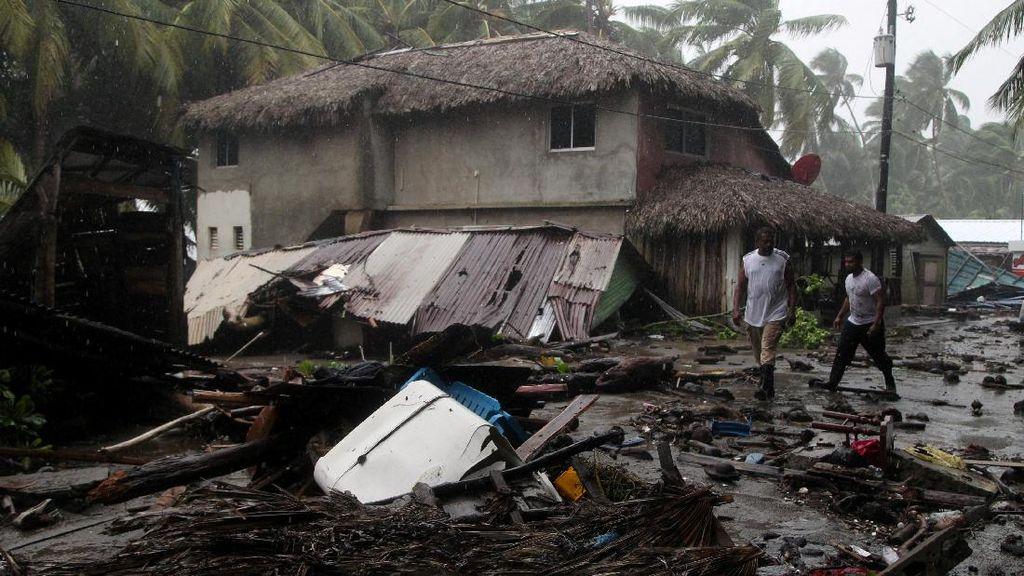 Terjangan Badai Irma di Republik Dominika