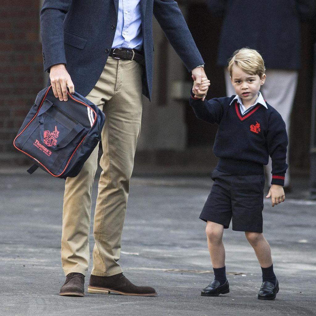 Gara-gara Stalker, Pangeran George Dijaga Pasukan Bersenjata di Sekolah