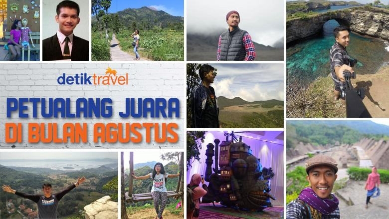 Foto: Pemenang dTraveler of The Month (Luthfy Syahban/detikTravel)