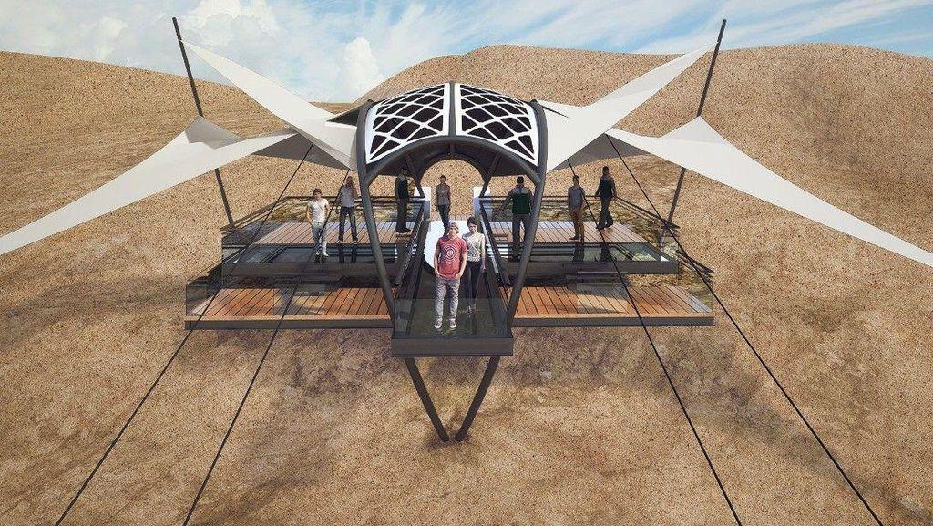 UEA Bakalan Punya Flying Fox Terpanjang Sedunia