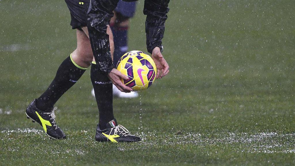 Laga Sampdoria vs Roma Ditunda Akibat Cuaca Buruk