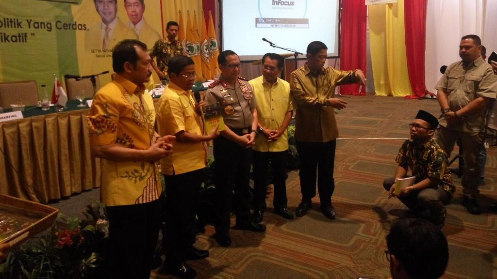Goda Kapolri ke Politikus Golkar yang Orasi Demo di Depan Istana