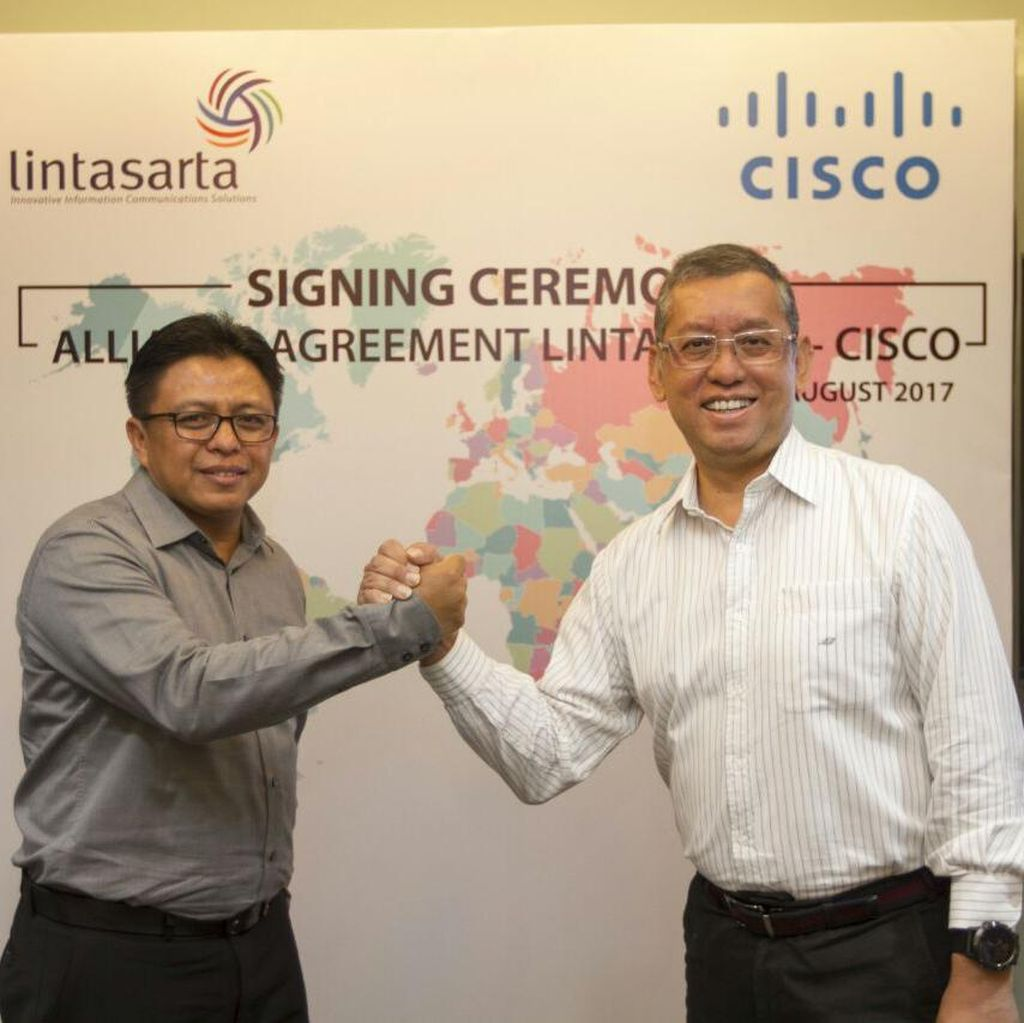 Lintasarta Diperkuat Teknologi Cisco