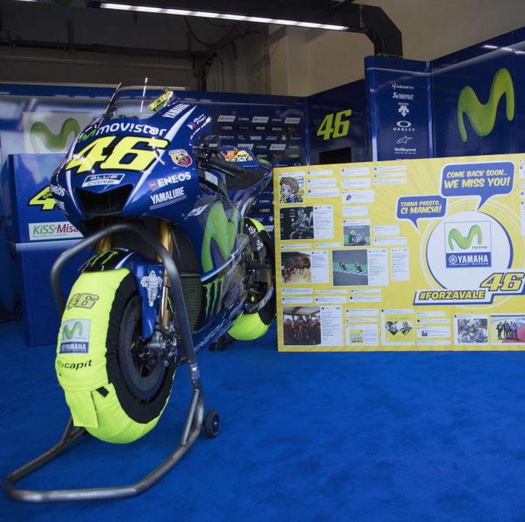 Rossi Mungkin Masih Absen di Aragon, Yamaha Jajaki Pengganti