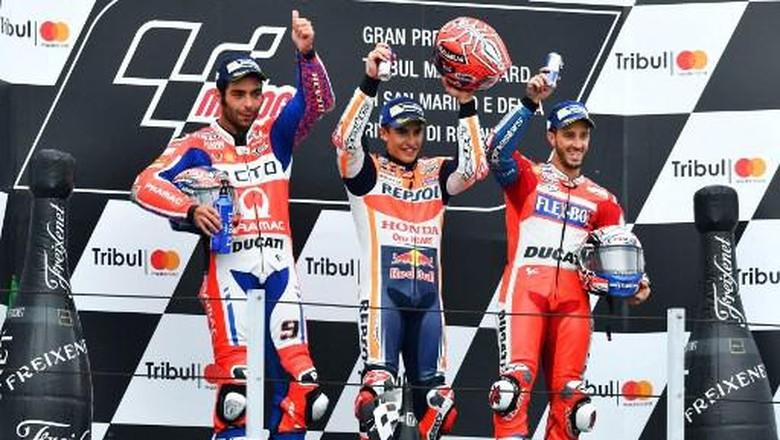 Klasemen MotoGP: Marquez Samai Poin Dovizioso di Puncak Klasemen