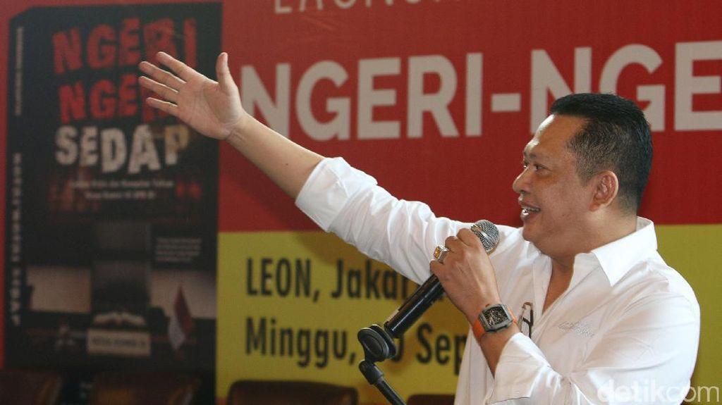 Bambang Soesatyo Bukukan Pengalamannya dalam Ngeri-ngeri Sedap