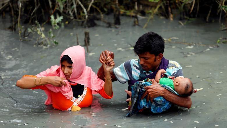 Bantuan RI untuk Rohingya Segera - Jakarta Sebagian besar warga Rohingya mengungsi ke Bangladesh karena tak diakui di Pemerintah Indonesia akan mengirimkan bantuan kepada