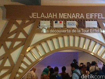 Jalan-jalan ke Menara Eiffel... di Yogyakarta