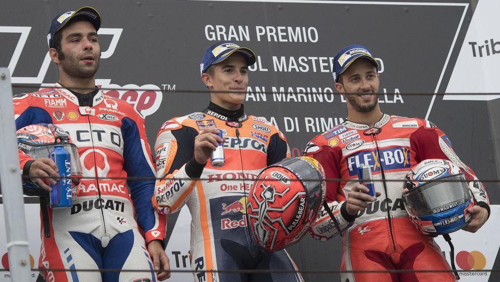 Fan Club Rossi Kecam Cemoohan terhadap Marquez di Misano