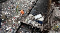 Foto: Kali Cideng Kembali Kumuh dan Penuh Sampah
