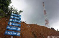 Penunjuk arah menuju Gita Jaya.