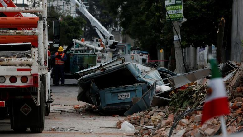 Meksiko Diguncang Gempa Dashyat 7,1 SR, Banyak Bangunan Hancur
