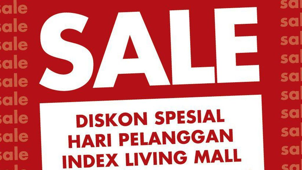 Berbagai Aksesoris Rumah di Index Living Mall Cuma Rp 99 Ribu