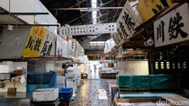 Tsukiji Market, Pasar Ikan di Jepang yang Ikonik