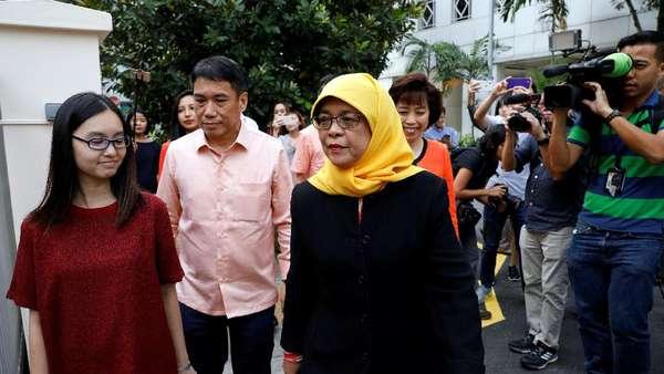 Halimah Yacob Jadi Presiden Singapura Tanpa Pemungutan Suara