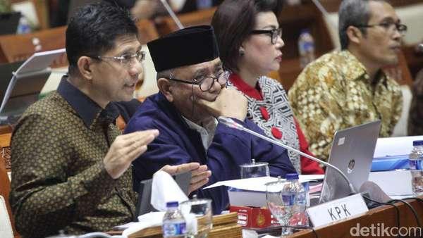 RDP dengan KPK Diskors, DPR Usul RUU Penyadapan