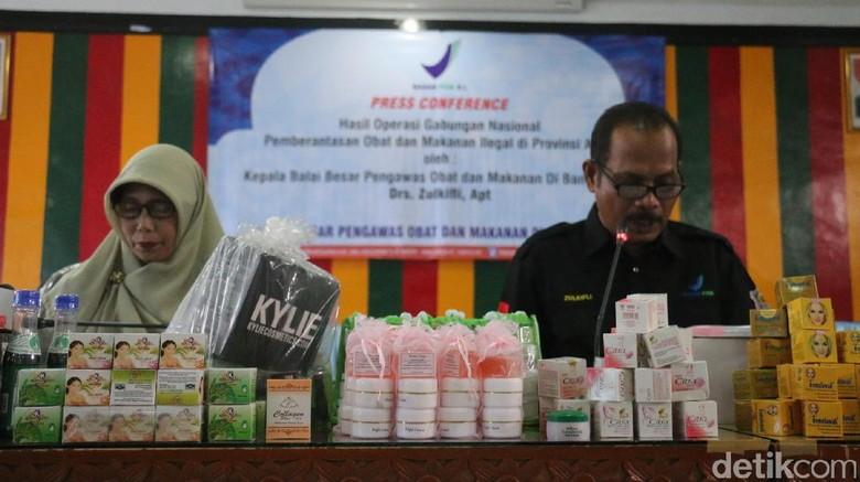 BPOM Aceh Sita Ribuan Kosmetik dan Obat Kuat Ilegal