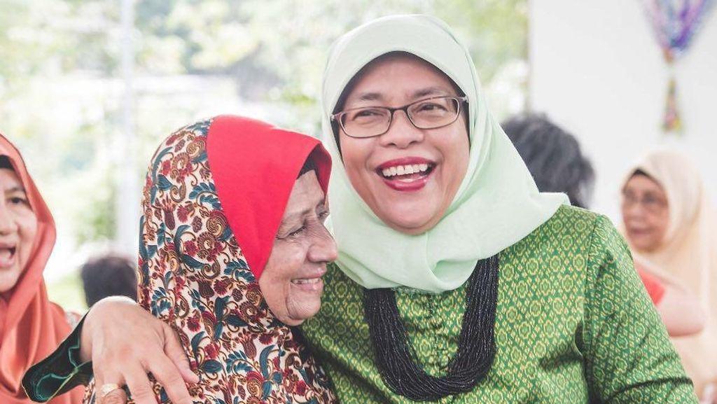 Halimah Yacob Pernah Jualan Nasi Padang hingga Sukses Jadi Presiden Singapura