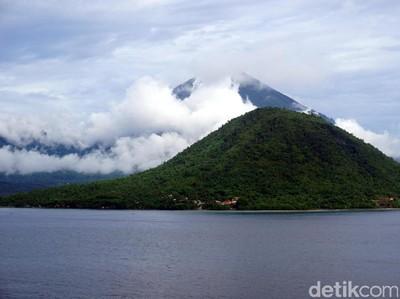 Foto: Pulau Indah di Uang Seribu Rupiah yang Lama