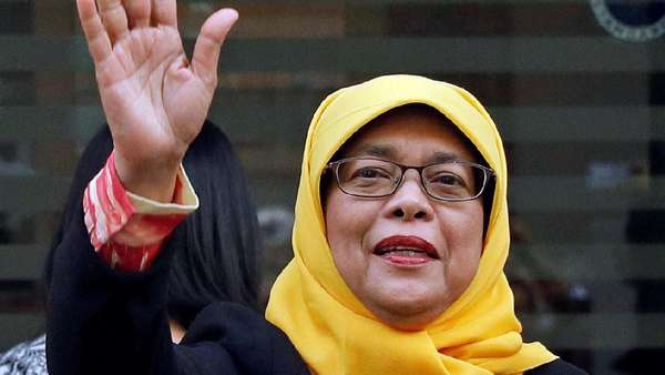 Ini Tahapan Halimah Yacob Sebelum Dilantik Jadi Presiden Singapura