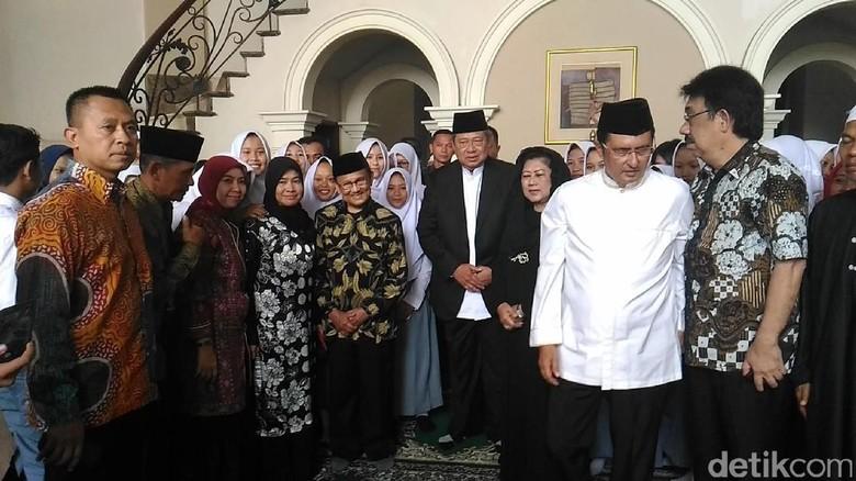SBY dan Habibie Melayat Istri Hamzah Haz