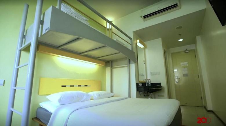 Foto: Salah satu kamar di ibis Budget Jakarta Cikini (dok 20detik)