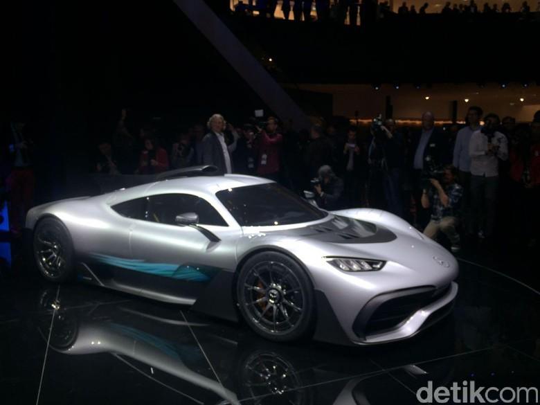 Mercedes Pastikan Hypercar Project One Tak Dibeli Orang Indonesia