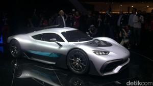Mobil Super Mercedes-AMG Rp 36 Miliar Ini Berteknologi F1