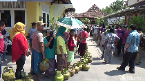 Atasi Kelangkaan, Pertamina Jateng DIY Tambah 335.560 Tabung Elpiji