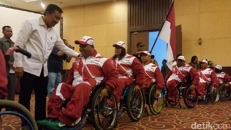Menpora Lepas Kontingen Indonesia untuk ASEAN Para Games