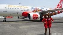 AirAsia Luncurkan Pesawat Bergambar Borobudur dan Bromo