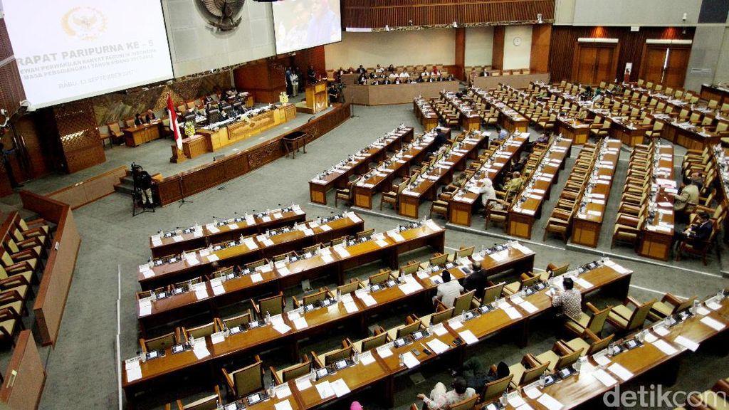 Pansus KPK Laporkan Hasil Kerja di Sidang Paripurna DPR Hari Ini