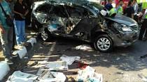 Kecelakaan Beruntun di Semarang, 2 Orang Meninggal Seketika